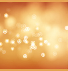 Blur abstract image with shining lights vector