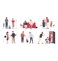 Collection of spouses or romantic partners during vector