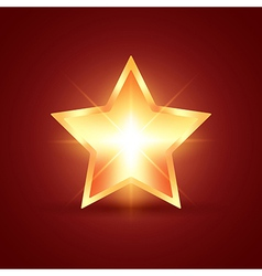 Glowing Star vector image