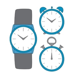 time set vector image