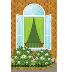 Window Pane vector image