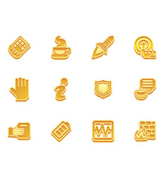 Application icon set vector