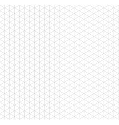 Gray isometric grid with vertical guideline on vector image vector image