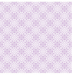 Pink abstract damask pattern background vector