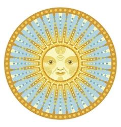 Daylight Mandala vector image