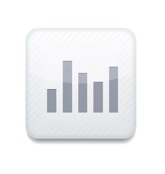 White graph icon eps10 easy to edit vector