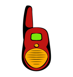 Transmitter icon cartoon vector
