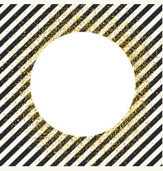 invitation card design template diagonal black vector image