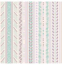 Tribal vintage ethnic pattern seamless vector