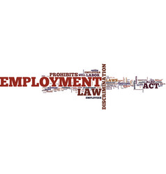 employment law unfair dismissal constructive vector image vector image
