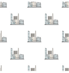 Refineryoil single icon in cartoon style vector
