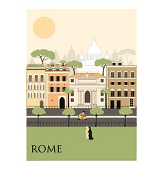 Rome city vector