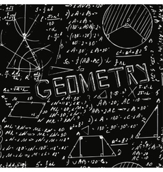 Seamless formula pattern vector