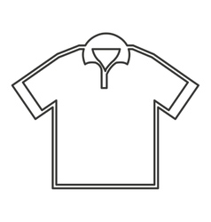 Shirt sport golf uniform icon vector