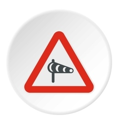 Sign is prohibited noise icon flat style vector image vector image