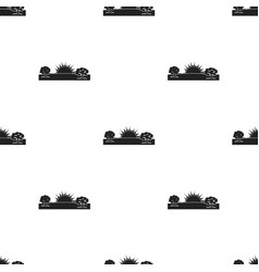 Sunrise icon in black style isolated on white vector