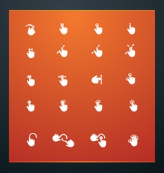 universal glyphs 17 phone symbols 6 vector image