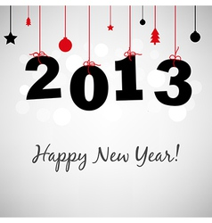 Happy New Years Card vector image
