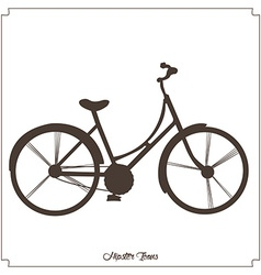 Isolated hipster icon vector image vector image
