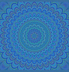 Psychedelic mandala ornament background - vector