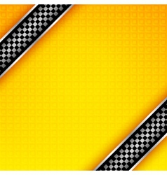 Racing ribbons background vector image vector image