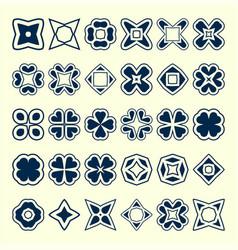 Set of creative original design elements vector