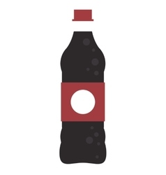 Soda bottle icon vector
