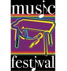 Music festival vector