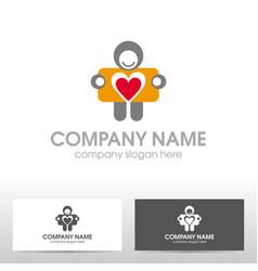 travelcard logo design vector image