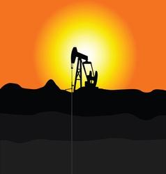 Oil pump jakc vector