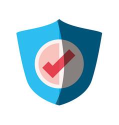 antivirus shield sign vector image