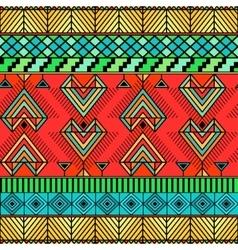 Bright ethno pattern vector