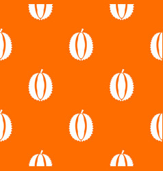 Durian pattern seamless vector