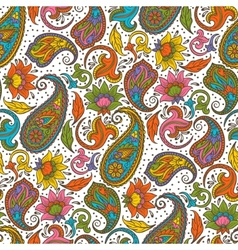 Paisley ornament vector