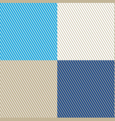 slanting strips on different colored background vector image vector image