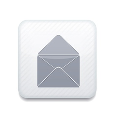 White mail icon eps10 easy to edit vector