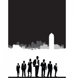 city brochure vector image