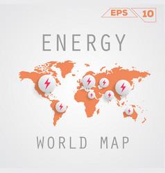 Energy map vector