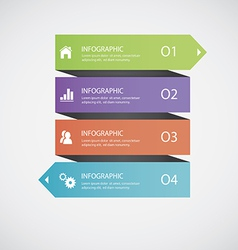 Abstract infographics vector