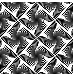 Design seamless striped geometric pattern vector