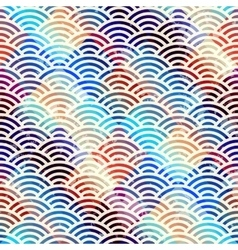 Abstract arc pattern vector