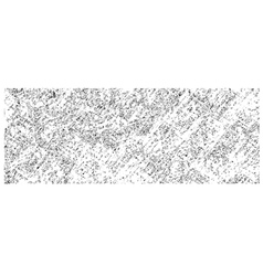 Pencil hatched background in white over black vector