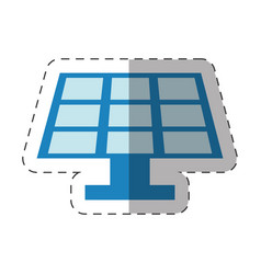 environment solar pannel design vector image