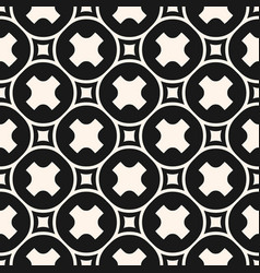 funky geometric pattern with simple figures vector image vector image