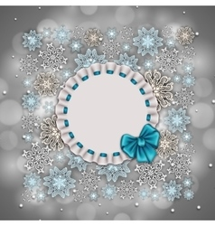 New Year s background vector image