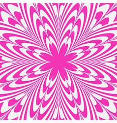Pink flower abstract background vector