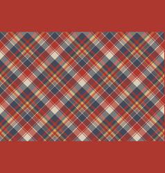tartan coarse fabric texture seamless pattern vector image vector image