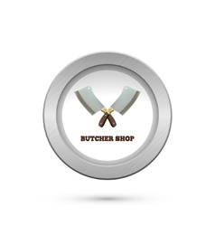 Butcher house cleavers vector