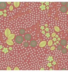 Floral seamless pattern for fabric vector