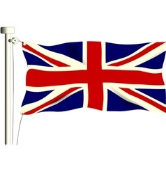 The union flag vector